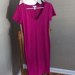New w/o Tags - Leith - Bodycon Midi Dress - Fushia
